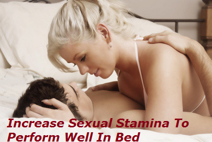 How to increase your sexual stamina